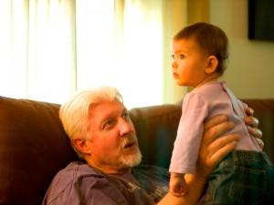 With Grandpa K.